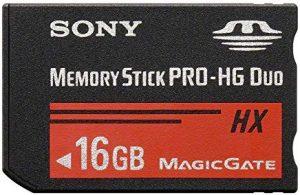 Sony MS-HX16B - Tarjeta de memoria Sony Memory Stick PRO-HG Duo de 16 GB (50 MB s)