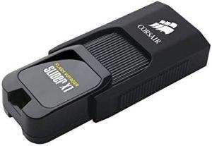 Pendrive 256GB Corsair Flash Voyager Slider X1 - Unidad de Memoria Flash USB 3.0 de 256 GB (diseño Compacto) (CMFSL3X1-256GB)