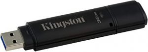 Pendrive más seguro Kingston Technology DataTraveler 4000G2 with Management 32GB 32GB USB 3.0 (3.1 Gen 1) Capacity Negro unidad flash USB - Memoria USB (32 GB, USB 3.0 (3.1 Gen 1)