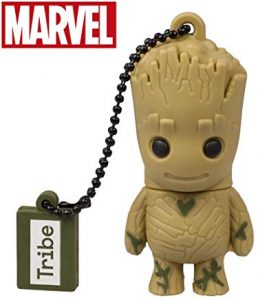 Pendrive Marvel Tribe Marvel los Guardianes de la Galaxia Groot Memoria USB 2.0 32 GB
