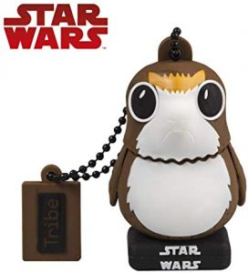 Pendrive Star Wars 32gb Tribe Star Wars 8 Pendrive - Memoria USB Flash Drive 2.0, de Goma, de 32 GB con Llavero, diseño PORG