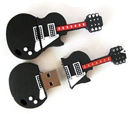Pendrive para Regalar YooUSB - Memoria USB (16 GB), diseño de guitarra eléctrica