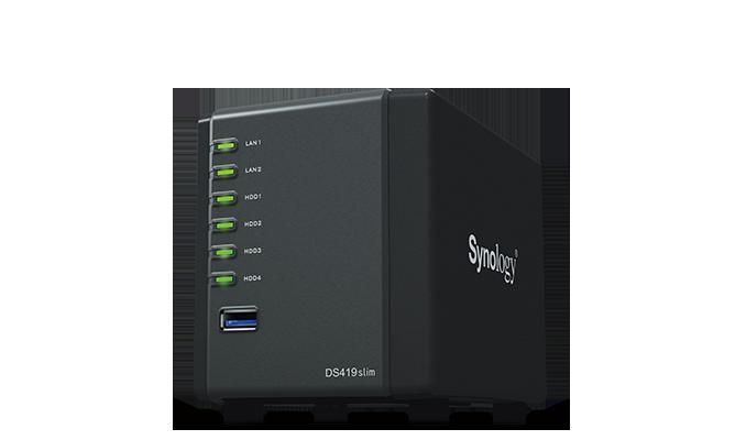 DiskStation DS419slim Servidor NAS Synology