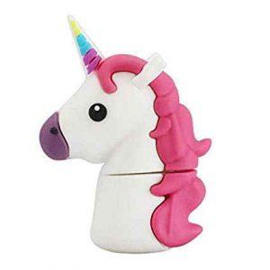 Pendrive bonito de unicornio