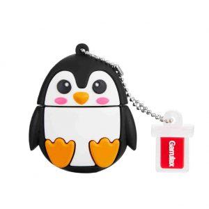 Garrulax Memoria USB, Pendive USB 2.0, Premium Impermeable Cute Animal Silicona 32GB Alta Velocidad Pen Drive Memory Stick Flash Drive Memorias