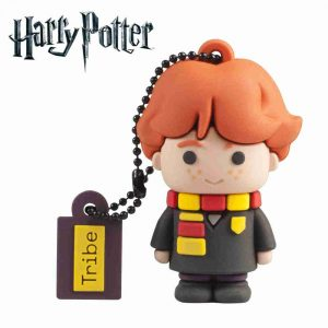 Llave USB 32 GB Ron Weasley - Memoria Flash Drive 2.0 Original Harry Potter, Tribe