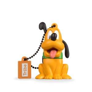 Tribe Disney Pluto - Memoria USB 2.0 de 8 GB Pendrive Flash Drive de Goma con Llavero