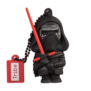 Pendrive USB 16 GB Kylo Ren - Memoria Flash Drive 2.0 Original Star Wars